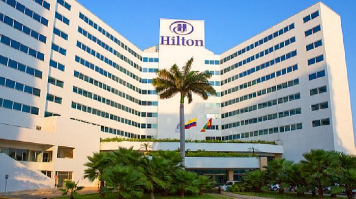 El Hilton es uno de los mejores hoteles en Cartagena