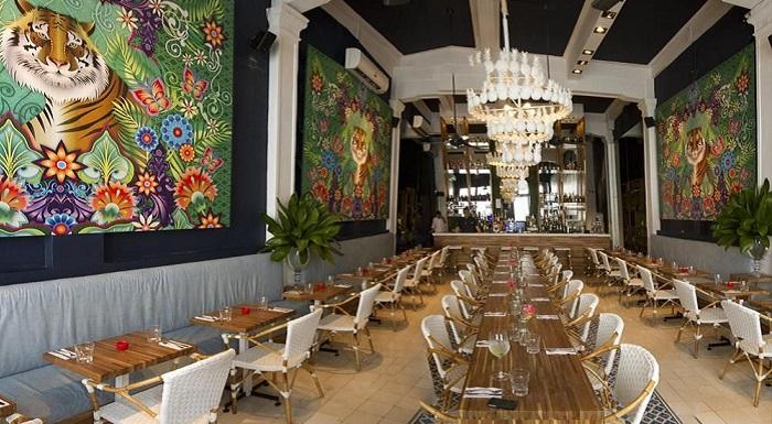 Un restaurantes románticos en Cartagena
